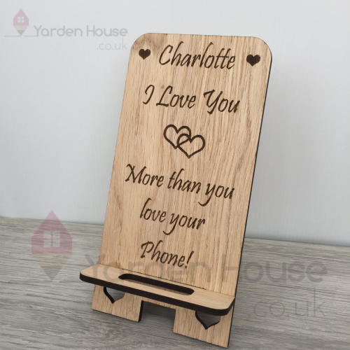 Phone /Tablet Stand, PERSONALISED